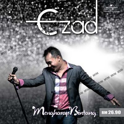 cover album ezad Album Solo Ezad Lazim:Mengharap Bintang
