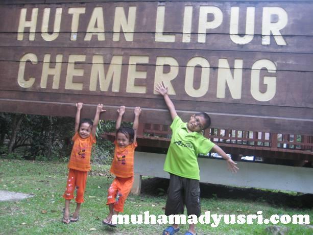 mykids@chemerong Santai di Hutan Lipur Chemerong
