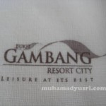 Team building @ Bukit Gambang Resort City Pahang