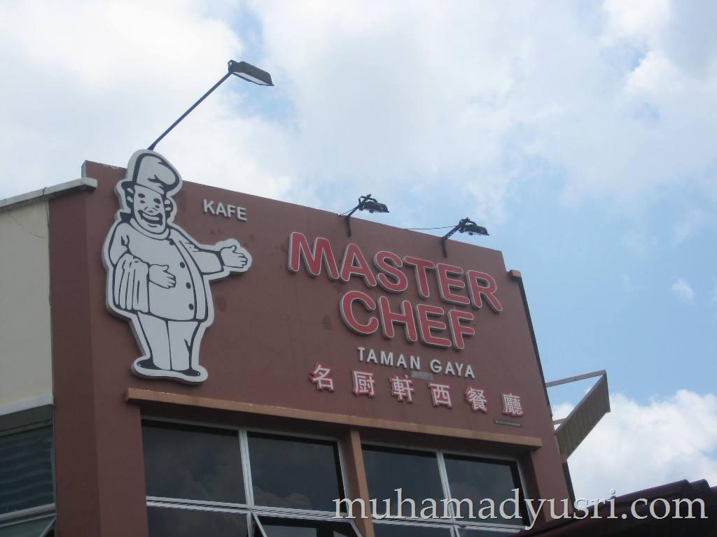 master chef kafe Lunch Gathering Sebelum Tahun Baru Cina 2012 @ Master Chef,Taman Gaya