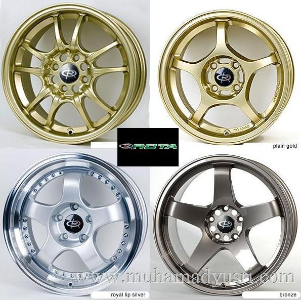 ROTA Replica Wheels 1 Rota Wheels Replica Sport Rims