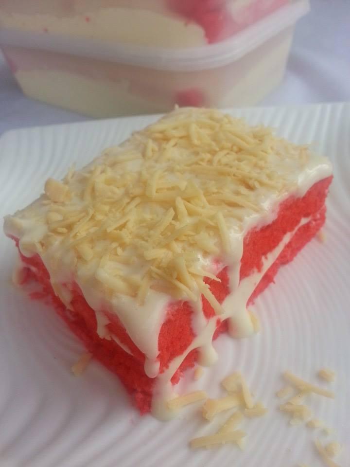 cheese cake meleleh