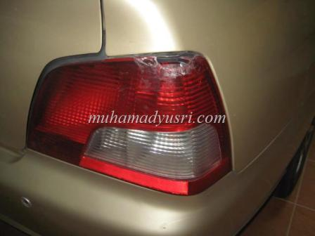Broken Original Tail Lamp DIY Pasang Tail Lamp