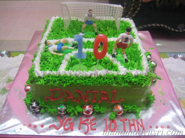 Kek Birthday Danial_9th years