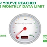 Wordless Wednesday #36 – Monthly Data Over Limit