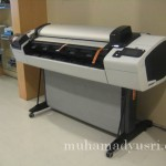 Wordless Wednesday #20 – Plotter with Scanner
