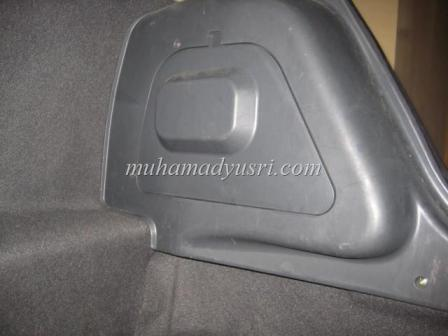 Reassemble Tail Lamp Rear Cover and screw